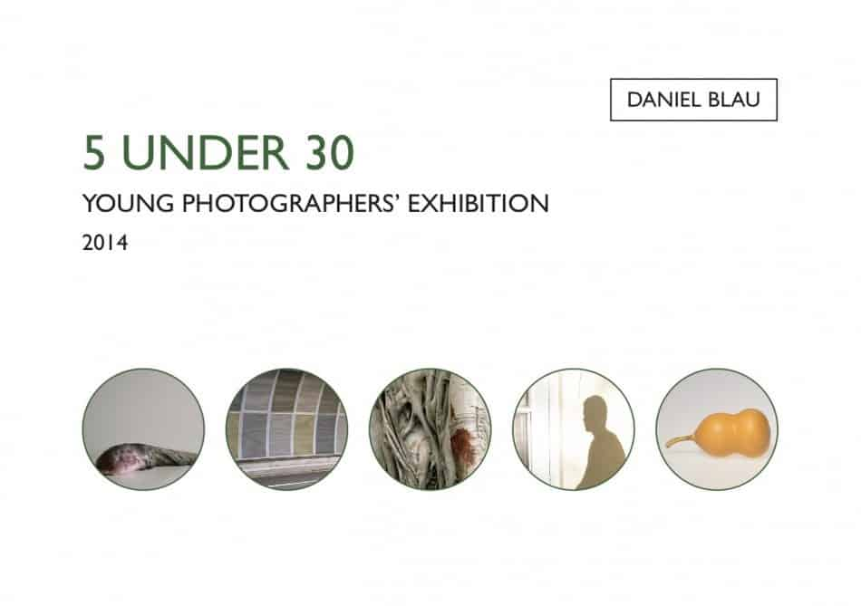 5 under 30 revised catalogue cover