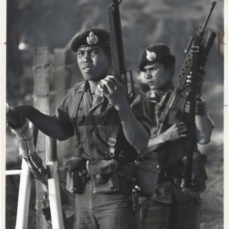 "Henry Herr Gill, ""Thai Troops"", 1979"