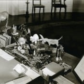 """President Franklin D. Roosevelt's Desk in the White House"""
