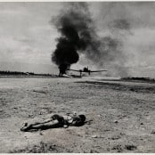 """Myitkyina, Burma; American-Held Airdrome"""