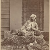 Turk of Trabzon, Turkey, ca.1870