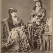Turkish Women at Home, Constantinople, 1860