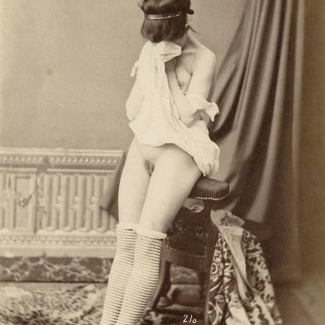 Female Nude, Paris, ca. 1880