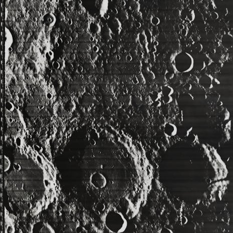 """Lunar Surface"" August 6, 1967"