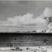 """""""A-bomb test, Bikini Atoll"""""""