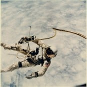 """Ed White's first Space Walk"""