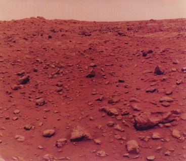 """First Colour Photo Taken on Mars"""