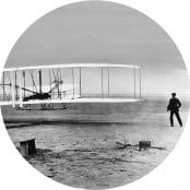 Man´s First Airplane Flight in 1903