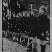 Parade of German Youth in Berlin