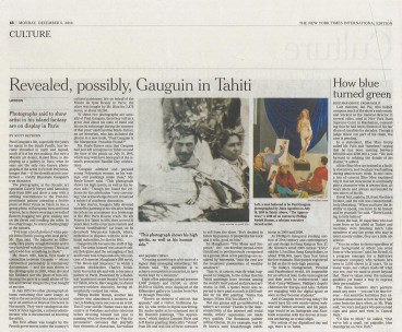 press new york times gaugin in tahiti