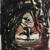 Baselitz Abgarkopf, 1983