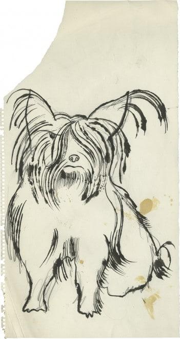 """Warhol """"n.t. (Angry Dog)"""""""
