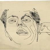 n.t. (Man Listening on Telephone), c. 1952