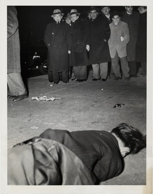 "Weegee ""Dies in Attempted Hold-up"""