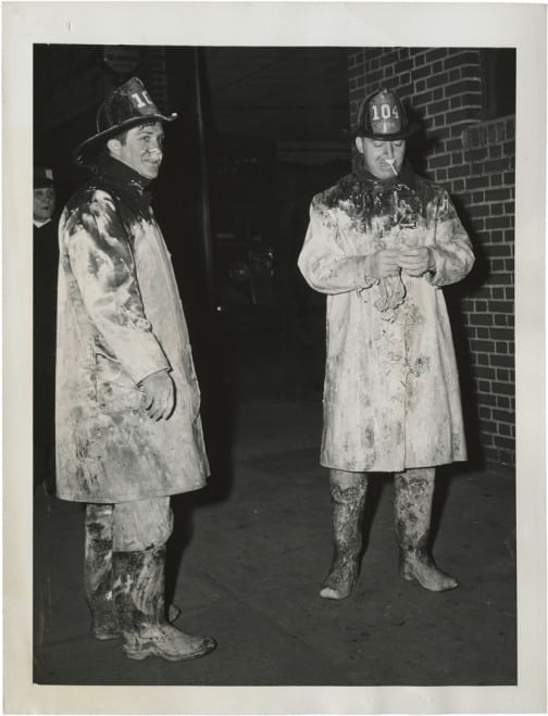 Weegee Men in White, 1943